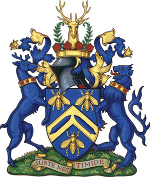 Arms of Farnworth 1939