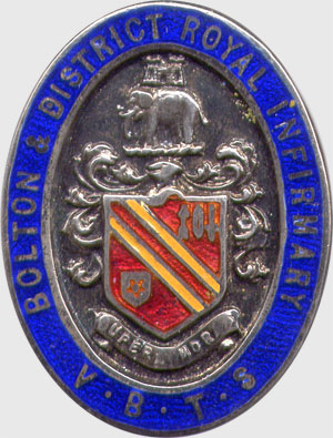 Royal Infirmary badge
